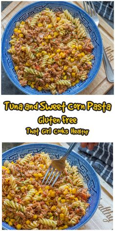 Whip up this super simple tuna and sweet corn gluten free pasta dish using a handful of store cupboard ingredients. It's so delicious, packed with bold flavours, you can even serve it hot or cold - the choice is yours! Corn Pasta, Seafood Seasoning, Gluten Free Pasta, Sweet Corn, Dairy Free Recipes, Super Simple, Healthy Cooking, Tuna, Cupboard