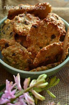 niebo na talerzu: Łatwe ciasteczka owsiane z sezamem