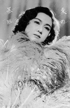 Kuwano Michiko 桑野通子 (1915-1946) in Ai no boufuu 愛の暴風 (Storm of love) - 1940