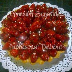 Tarta de Frutillas 🍓 hecha por mis alumnas