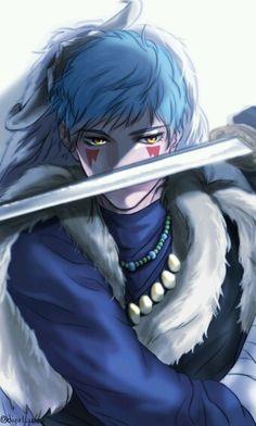 ヨナ(Yona) of the dawn, the blue dragon Sinha. They are all pretty awesome.