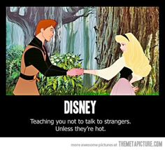 """Kristoff: """"Didn't your parents ever teach you not to talk to strangers?!"""" Anna: """"yyyes they did..."""""""