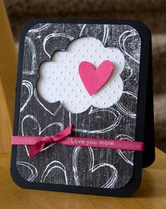 i love the cloud embossing, love the ribbon. love it all. {what she said}