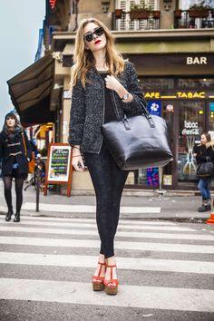Die schönsten und inspirierendsten Street-Styles der Fashion Week in Paris Herbst/Winter 2016/17