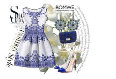 """""""Romwe 6"""" by dinka1-749 ❤ liked on Polyvore featuring Christian Louboutin and vintage"""