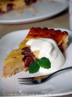 Ich bin dann mal kurz in der Küche: Die Küchenflüsterin über die süßen Seiten des Lebens: Stachelbeer Tarte