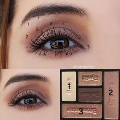 5 Ways to Make Blue Eyes Pop with Proper Eye Makeup Pink Eye Makeup, Smoky Eye Makeup, Eye Makeup Steps, Simple Eye Makeup, Natural Eye Makeup, Makeup For Brown Eyes, Skin Makeup, Eyeshadow Makeup, Makeup Cosmetics