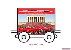 Atatürk Treni Atatürk Haftası Grafiği Classroom Activities, Videos Funny, Acting, Kindergarten, Preschool, Drama, Education, Photo And Video, Words