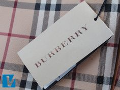 1314cc2704e6 New Burberry handbags are accompanied by a swing-tag featuring the Burberry  logo. As. Swing TagsLabel ...
