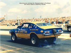 This is coming from a guy that took his 71 Pinto drag racing back in high school in the early 80's! Description from forums.vintage-mustang.com. I searched for this on bing.com/images