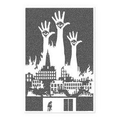 Postertext Slaughterhouse-Five Graphic Art