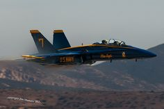 Blue Angel via Jim Mumaw on Flickr