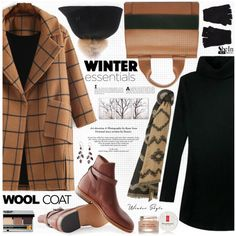 A fashion look from November 2015 by katjuncica featuring MANGO, Bobbi Brown Cosmetics, PTM Images, The Elder Statesman, Elizabeth Arden, Marni, NOVICA and wint...