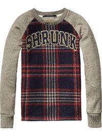 Gecombineerde sweater