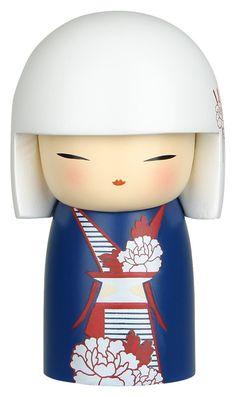 "Poupée japonnaise kokeshi kimmidoll Chichiro ""Bienveillance"" - Kimmidoll/Kimmidoll 6 cm - Lulu Shop"