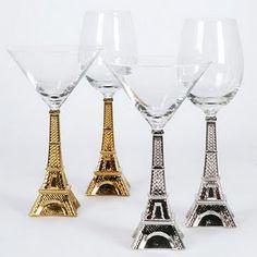 Crystal #glass Torre #Eiffel – Hotel #Paris Las Vegas love love this...the wine ones....