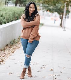 Discover ideas about autumn outfits curvy Autumn Outfits Curvy, Curvy Girl Outfits, Curvy Girl Fashion, Winter Fashion Outfits, Fall Winter Outfits, Look Fashion, Autumn Fashion Curvy, Womens Fashion, Plus Size Fall Outfit
