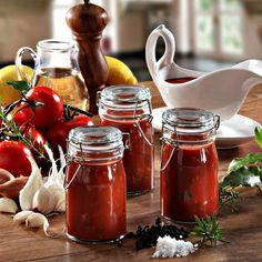 Tomatensauce zum Einkochen und Verschenken...