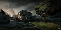 Telltale The Walking Dead - Episode 1 house