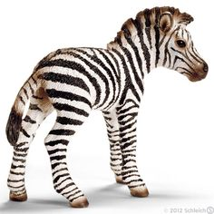 Zebra Foal 14393 Item Page - Schleich Toys Animals Website