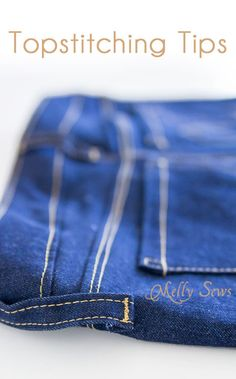 How to Topstitch - Melly Sews