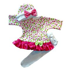 cf12d6a77de Baby Girls  Joyful Hearts Sassy Dress - Jacqui s Preemie Pride