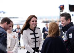 """Kensington Palace on Twitter: """"Today The Duchess of Cambridge is opening the @1851Trust Visitor Centre @LandRoverBAR ⚓️"""