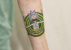 Фломастер Ленин (Татуировка Красноярск) rick an morti, tattoo