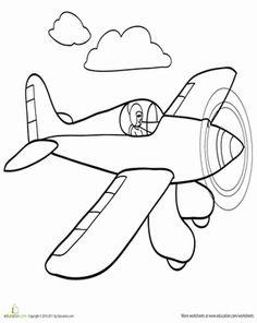 The Helicopter Coloring Page  ART WITH TRANSPORTATION  Pinterest