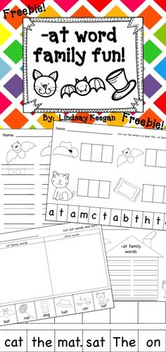 Freebie! -at family word work