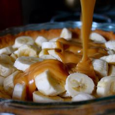Caramel banana pie!