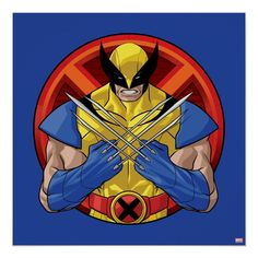 Wolverine Character, Comic Character, X Men Personajes, Arte Nerd, Thing 1, Disney Plus, Custom Notebooks, Custom Posters, Adulting
