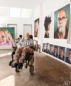 Look Inside the Studios of Jeff Koons, Vik Muniz, Chuck Close, and More Photos | Architectural Digest