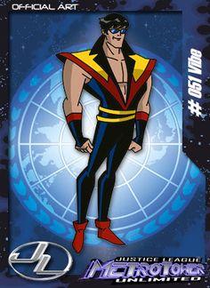 Vibro-Membro da Liga da Justiça. Aparece apenas como figurante na série.