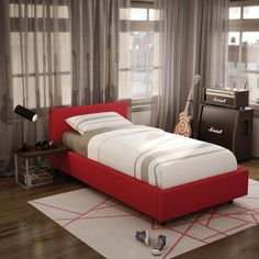AMISCO - Muro Kid Bed (12509-39) - Furniture - Bedroom - Urban collection - Contemporary - Upholstered kid bed