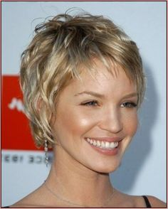 Short Haircuts For Women Over 50 With Fine Thin Hair