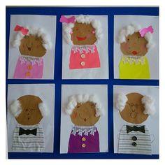 Kinderboekenweek opa en oma knutselen Grandparent's day craft idea for kids K Crafts, Preschool Activities, Grandparents Day Activities, September Preschool, January, Preschool Education, School Themes, Crafts For Kids To Make, Autumn Activities