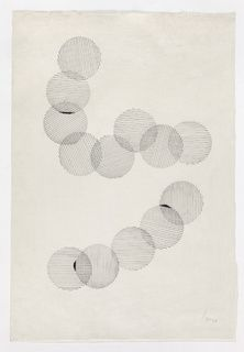 Lygia Pape 1959 black indian ink on japanese paper