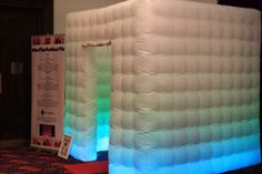 #INFLATABOOTH #LED
