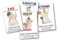 Lecture - Albums et romans - haddock Zeus And Hades, Cycle 3, Core French, Story Of The World, Greek Art, Tour Eiffel, Summer School, Greek Mythology, Science And Nature