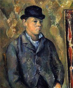 Paul Cézanne (1839-1906)  Portrait of the Artist's Son  1890  National Gallery, DC