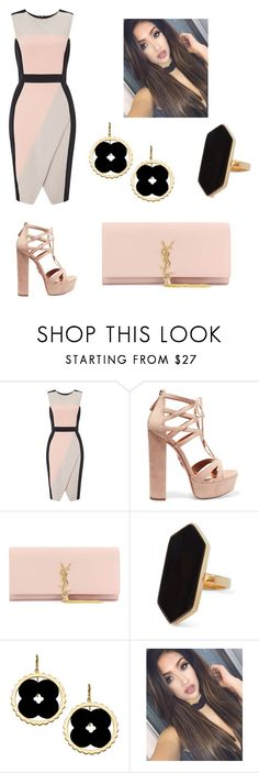 """You did not break me"" by annak17 ❤ liked on Polyvore featuring Miss Selfridge, Aquazzura, Yves Saint Laurent, Jaeger and Asha by ADM"