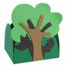 Forminha Artesanal Lobo Átras da Árvore (10 unidades)