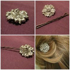 Diy Accessoires, Rides Front, Bobby Pins, Guide, Hair Accessories, The Noir, Barrette, Beauty, Ainsi