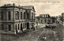 Market Plaza and Flores Avenue, Laredo, Texas (postcard, circa 1907)
