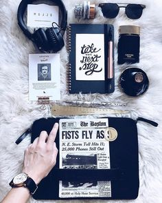 """Adding yet another beautiful leather clutch to my collection! Love how versatile it is; dress it up or down and it still looks classy  - by @skybambi - Carry-On Folio Sleeve for 12"""" Macbook available on mujjo.com or through resellers worldwide. #mujjo"""