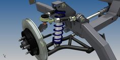 mustang suspension CAD - Buscar con Google