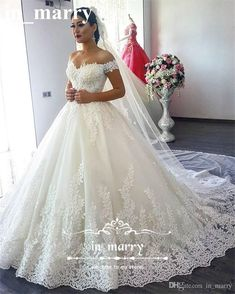 Victorian Vintage Lace Ball Gowns Wedding Dresses 2017 Off Shoulder Bling Arabic Spanish Plus Size Robe De Mariage Real Images Bridal Gowns Arabic Wedding Dresses Vintage Lace Wedding Dresses Ball Gown Wedding Dresses Online with $333.34/Piece on In_marry's Store | DHgate.com #laceweddingdresses