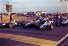 In it's prime era, here you can see the pit exit and the tower in the background. Vintage Racing, Grand Prix, Race Cars, Abandoned, Track, Fire, World, Rally, Legends