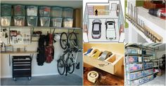 Garage organization is not difficult nor is it expensive. It is however, essential if you want a clean space where everything is relatively easy to find. Whether you have a large garage or just a small space, there are many things that you can do to utilize that space and give...